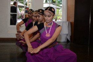 Classical Indian dance troupe, USC Drishti, performed at the International Student Graduation Reception.