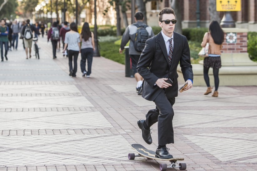 Job prospects are bright for recent USC grads. Photo by Chris Shinn