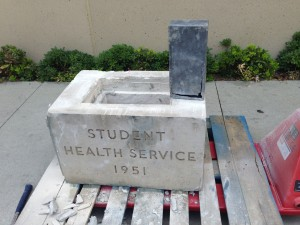 The time capsule was hidden in this 1951 cornerstone